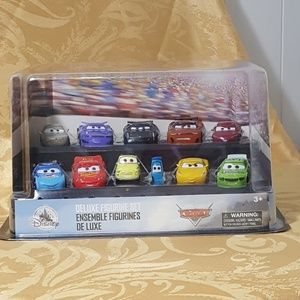 Disney Cars Deluxe Figurine Set